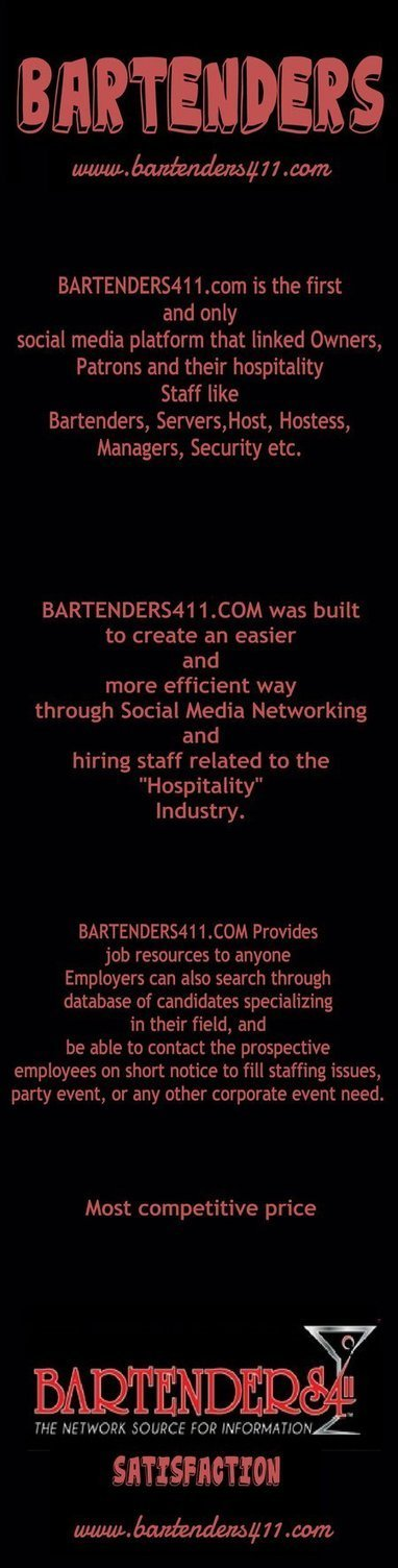 All about Bartenders Bar Drinks Menus | Bar Tender | Scoop.it