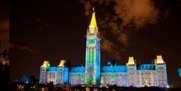 Christie Projection Mapping Display Transforms Canada's Parliament Hill Centre Block Into Virtual Storybook | The Meeddya Group | Scoop.it