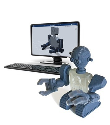 Autodesk 123D Design | Tools for Teachers & Learners | Scoop.it