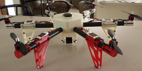 3D Printed Multicopter Drone | 3D printing | Scoop.it