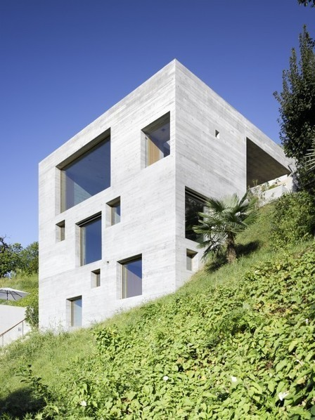[ S.Abbondio, Switzerland] New Concrete House / Wespi de Meuron | The Architecture of the City | Scoop.it