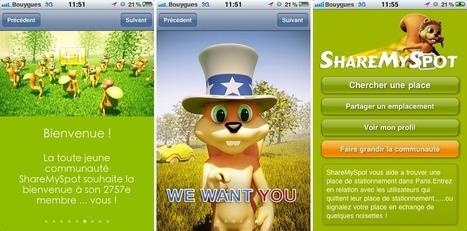 ShareMySpot : Recherches et échanges de places de stationnement en temps réel   Les news du Web   Scoop.it