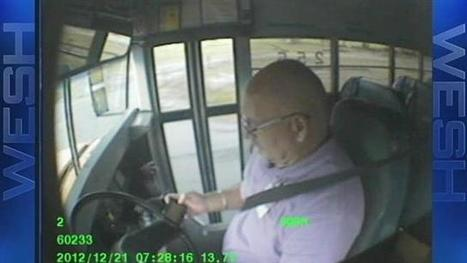 Florida school bus driver caught texting while driving (VIDEO) | Texting While Driving | Scoop.it