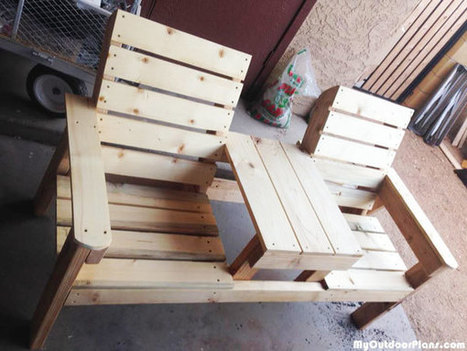 DIY Large Jack and Jill Chair Set | MyOutdoorPlans | Free Woodworking Plans and Projects, DIY Shed, Wooden Playhouse, Pergola, Bbq | Garden Plans | Scoop.it