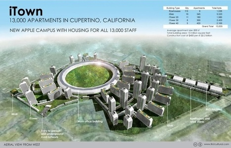 What Silicon Valley Might Look Like If All of Its Employees Actually Lived There   What's up in Silicon Valley ?   Scoop.it