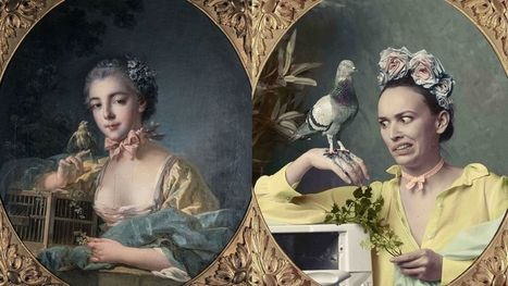 10 popular Instagrammers recreate iconic works of Parisian art | Litteris | Scoop.it