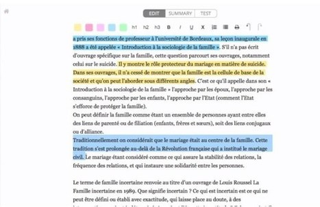 Khuube. Créer facilement des fiches de révision – Les Outils Tice | Education et TICE | Scoop.it