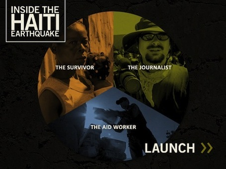 Retour sur Inside the Haiti Earthquake, documentaire et expérience interactifs | L'actualité du webdocumentaire | Scoop.it