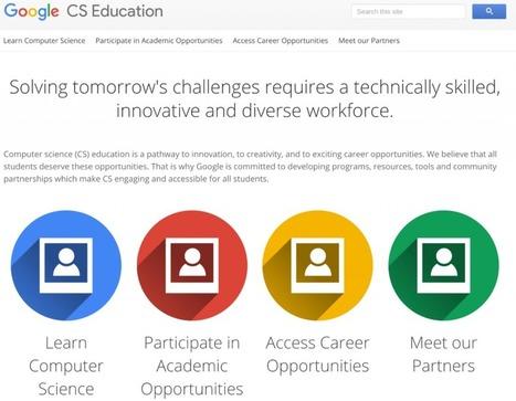 Google ha raccolto tutti i suoi programmi per insegnare il coding in un unico sito   App, social, internet bambini e ragazzi   Scoop.it