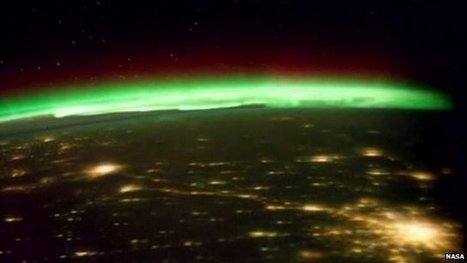 Northern Lights captured from space | e-Expeditions News | Scoop.it