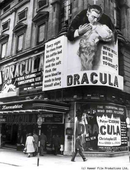 How shocking Dracula must have been in the 50s!  :) | Sex History | Scoop.it