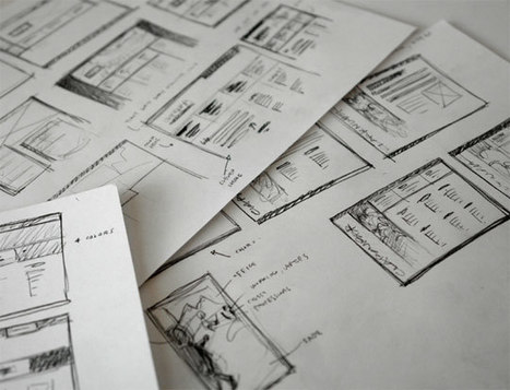 18 Great Examples of Sketched UI Wireframes and Mockups | Basics and principles for a good  Web Design | Scoop.it