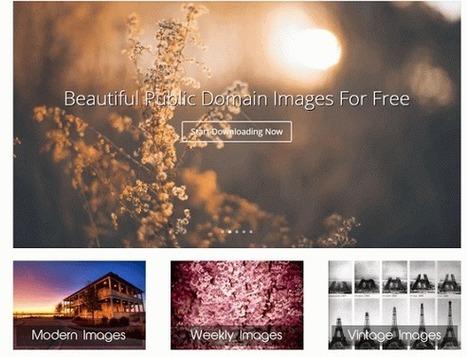14 mejores sitios web de Fotos para uso Comercial Gratis   Con visión pedagógica: Recursos para el profesorado.   Scoop.it