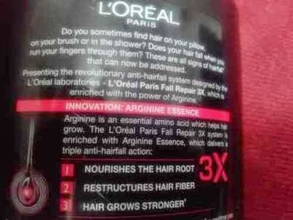 L'oreal Paris Fall Repair 3x Anti-Hair Fall Shampoo Review | Makeup and Beauty Reviews in Makeup Reviews Hall | Scoop.it