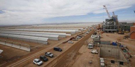 Maroc : 5 chiffres pour saisir l'immensité de la centrale solaire Noor de Ouarzazate | International aid trends from a Belgian perspective | Scoop.it