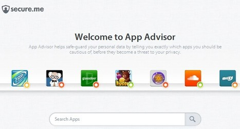 App Advisor by secure.me | compaTIC | Scoop.it