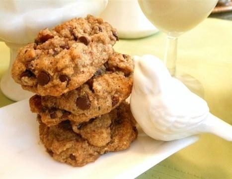 Vegan Gluten-Free Chocolate Chip Cookies Recipe - Go Dairy Free | My Vegan recipes | Scoop.it