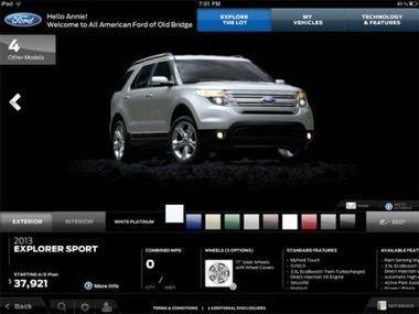 Ford utilise désormais l'iPad en concession avec une application dédiée à ses employés | Tablettes tactiles et usage professionnel | Scoop.it