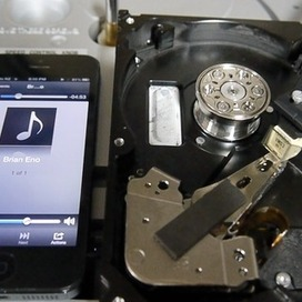 Using a hard drive to cut a record | Slash's Science & Technology Scoop | Scoop.it