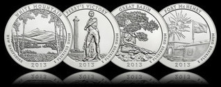 America the Beautiful 5oz Silver Coins Hotter in 2013 | Silver Bullion | Scoop.it