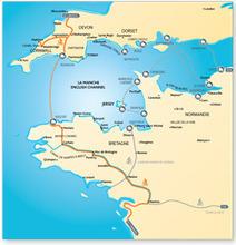 2 nouveaux itinéraires à vélo entre Bretagne et Angleterre   RoBot cyclotourisme   Scoop.it