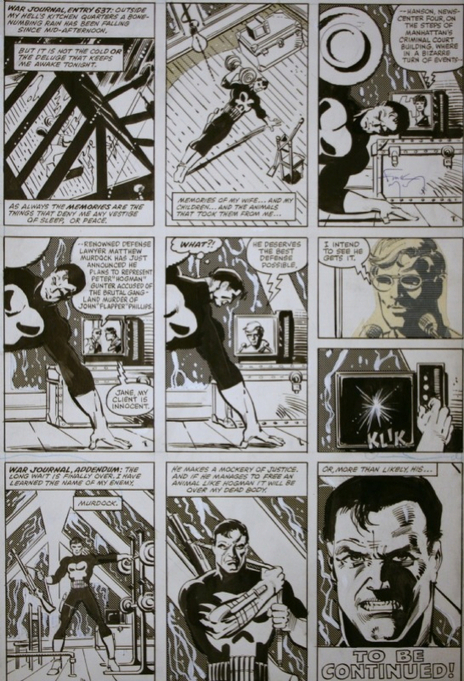 Lost Frank Miller / Klaus Janson Art! War Journal, Addendum   Comic Books   Scoop.it