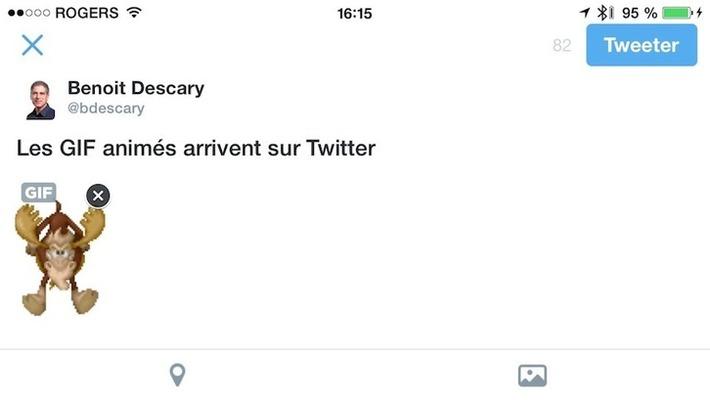 Les GIF animés débarquent sur Twitter.com, iOS et AndroidDescary.com | TIC et TICE mais... en français | Scoop.it