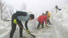 Trop de neige pour les bénévoles qui préparent la course du Grand Ballon | Strasbourg | Scoop.it
