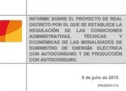 Todo a punto para aprobarse el Real Decreto de Autoconsumo | EnergyNews.es | El autoconsumo es el futuro energético | Scoop.it
