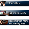 iPad MEnu For Restaurant