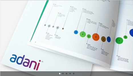 New wordmark and visual system for Adani | Corporate Identity | Scoop.it