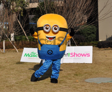Buy Minions Mascot Costume despicable me Character Mascot Costume | BUYMASCOTSHOWS | Scoop.it