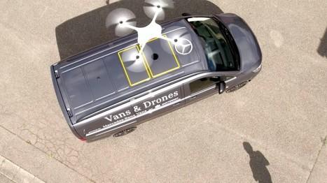 Mercedes wants drones to piggyback on its delivery vans | Post-Sapiens, les êtres technologiques | Scoop.it