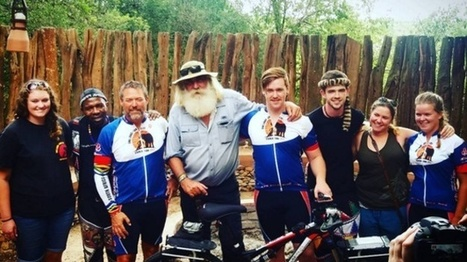 Holgate welcomes rhino cyclist Wayne Bolton home | Rhino Poaching & Wildlife Crime | Scoop.it