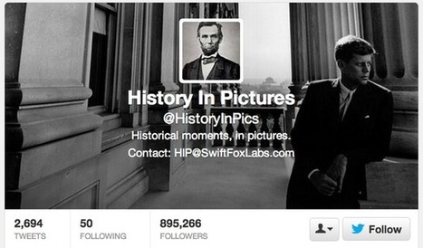 The 2 Teenagers Who Run the Wildly Popular Twitter Feed @HistoryInPics | Distributing Film Online | Scoop.it