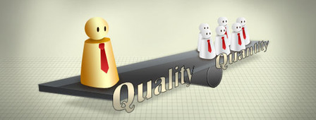 How To Balance Business Lead Quality And Quantity | Business 2 Community | Winning More and Qualified Sales Leads | Scoop.it