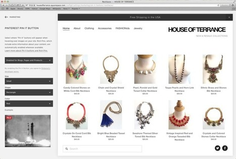 Pinterest Adds A Few Tools To Integrate More Easily With Squarespace | Pinterest | Scoop.it