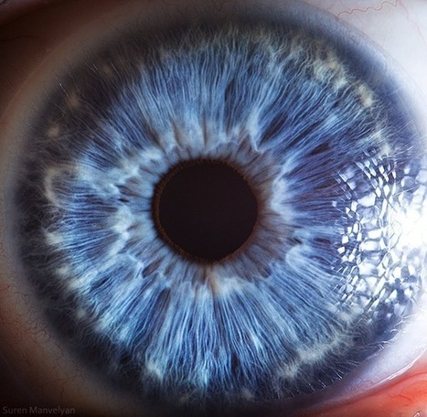 The Science Behind These Amazing Photographs of the Human Eye | Randomness H | Scoop.it