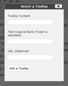 Ajouter des Tooltips dans vos articles - Formation Site WordPress   Utiliser WordPress   Scoop.it