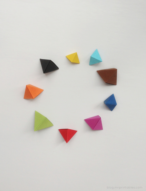 <h1>Origami 'Bipyramid' Tutorial & What To Do With Them</h1>   Idées de DIY   Scoop.it