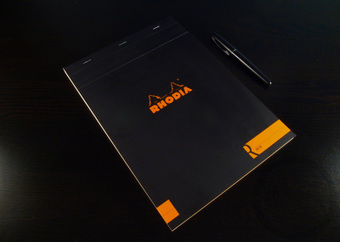 R by Rhodia No. 18 Lined Notepad - Handwritten Stationery Review | Writing instruments | Scoop.it