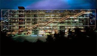 Renzo Piano, Richard Rogers - Centre Georges-Pompidou(Beaubourg) - Architecture - Production MY Arts inc. | L'Homme et la ville | Scoop.it