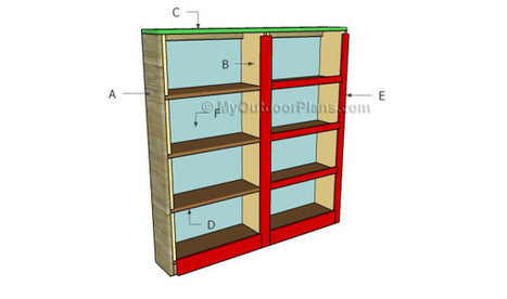 How to Build a Bookcase | Free Outdoor Plans - DIY Shed, Wooden Playhouse, Bbq, Woodworking Projects | antiques-vintage | Scoop.it