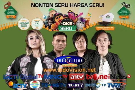 Dengan Paket Okeseru, Anda Bisa Nonton Hemat Dengan Harga Seru! | Indovision Satellite Television | Scoop.it