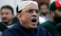 Zardari lashes out at political rivals, establishment   News Today   Scoop.it