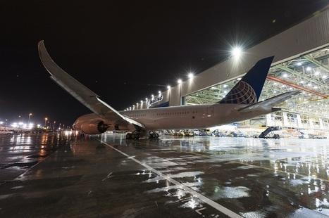 PHOTO: United's First Boeing 787-9 Exits Factory | Airchive | Civil Aviation | Scoop.it