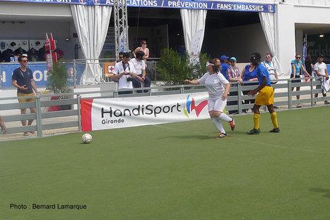 Le handisport se montre lui aussi à la FanZone | Bordeaux Gazette | Scoop.it