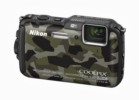 Nikon Coolpix AW120 Camo Camera - Grease n Gasoline | Photography - Products, Gadgets and News | Scoop.it