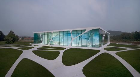Des bureaux organiques : Leonardo Glass Cube | Déco & tendances contemporaines | Scoop.it