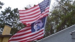 The Obama Flag: Who Decided That It Was Okay To Replace The Stars On The American Flag With The Face Of Barack Obama? | Gold and What Moves it. | Scoop.it